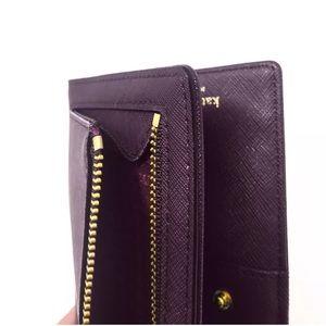 4dd5babbaa1c kate spade Bags - Kate Spade Stacy Laurel Way New Wallet Mahogany